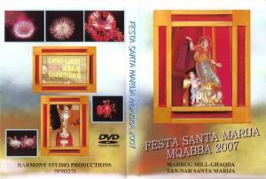 DVD tan-Nar tal-Festa Santa Marija Mqabba 2007