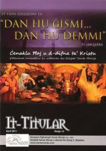 It-Titular Ħarġa Numru 12 – April 2011
