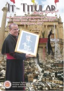 It-Titular Ħarġa speċjali fl-okkażjoni ta' l-ewwel żjara fl-Imqabba ta' l-Arċisqof ta' Malta Mons. Pawlu Cremona O.P. 28 ta' Marzu 2007
