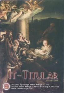 It-Titular Ħarġa Numru 8 – Diċembru 2009