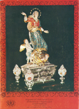 Programm tal-Festa Titulari Santa Marija Mqabba – 1988