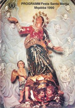 Programm tal-Festa Titulari Santa Marija Mqabba – 1990
