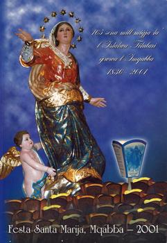 Programm tal-Festa Titulari Santa Marija Mqabba – 2001