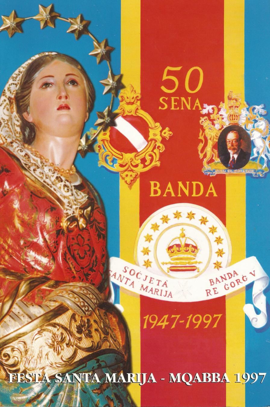 Programm tal-Festa Titulari Santa Marija Mqabba – 1997