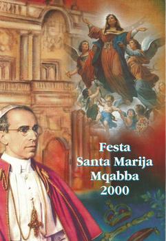 Programm tal-Festa Titulari Santa Marija Mqabba – 2000