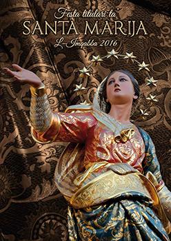 Programm tal-Festa Titulari Santa Marija Mqabba 2016